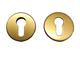 Rozeta kulatá bronzová - pár
