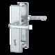Vchodové kliky H London široký štít klika-klika rozteč 92mm