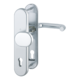 Vchodové kliky H Paris široký štít klika-koule rozteč 92mm