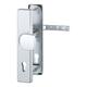 Vchodové kliky H London Široký štít klika-koule rozteč 92mm