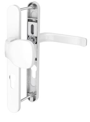 Dveřní klika K-KO bílá, štít 32, rozteč 92(116.9016.32.92)