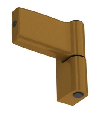 Vchodový závěs typ A 17,5 zlatý (imitace bronzu)(901.GOLD.17,5.A)