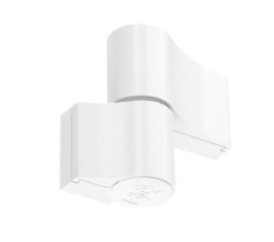 Dveřní pant Alu Jocker 2D (dvoudílný) 67 mm bílý(902.9016.67.00)