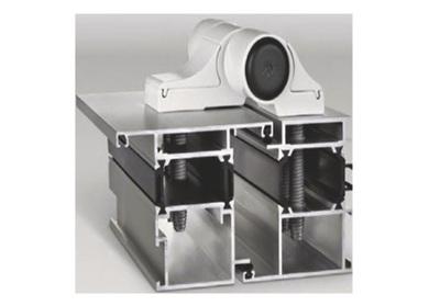 Závěsy pro hliníkové dveře Mechanica 2-dílné rozteč 78(es000261)