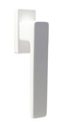 Klika okenní 1033 bílá RAL9016 Al, 4 pol. 35mm (45°)
