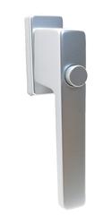 Klika okenní 1033 stříbrná F1 Al, 4 pol. 35mm (45°)