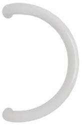 Hliníkové madlo bílé (tvar C)