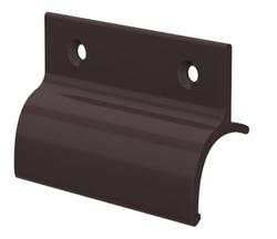 Hliníkové madélko s osazením hnědé RAL8019