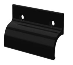 Hliníkové madélko bez osazení  černé
