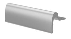 Hliníkové madélko F1 stříbrná