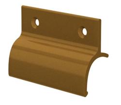 Hliníkové madélko s osazením zlaté (imitace bronzu)