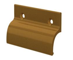 Hliníkové madélko bez osazení zlaté (imitace bronzu)