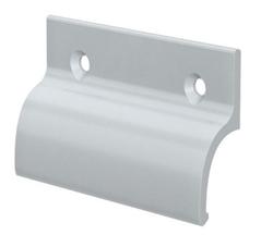 Hliníkové madélko bez osazení stříbrné