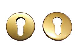 Rozeta kulatá, bronz F4 - pár