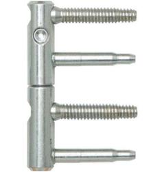 Dveřní závěs 15mm - bílý pozink