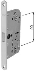 Zadlabávací magnetický zámek 90/76/18 dorn 50, BB obyč. Klíč, bílý zinek