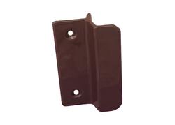 Hliníkové madélko s osazením hnědé RAL 8019