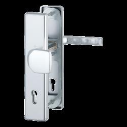 Vchodové kliky H London široký štít klika-madlo rozteč 90mm